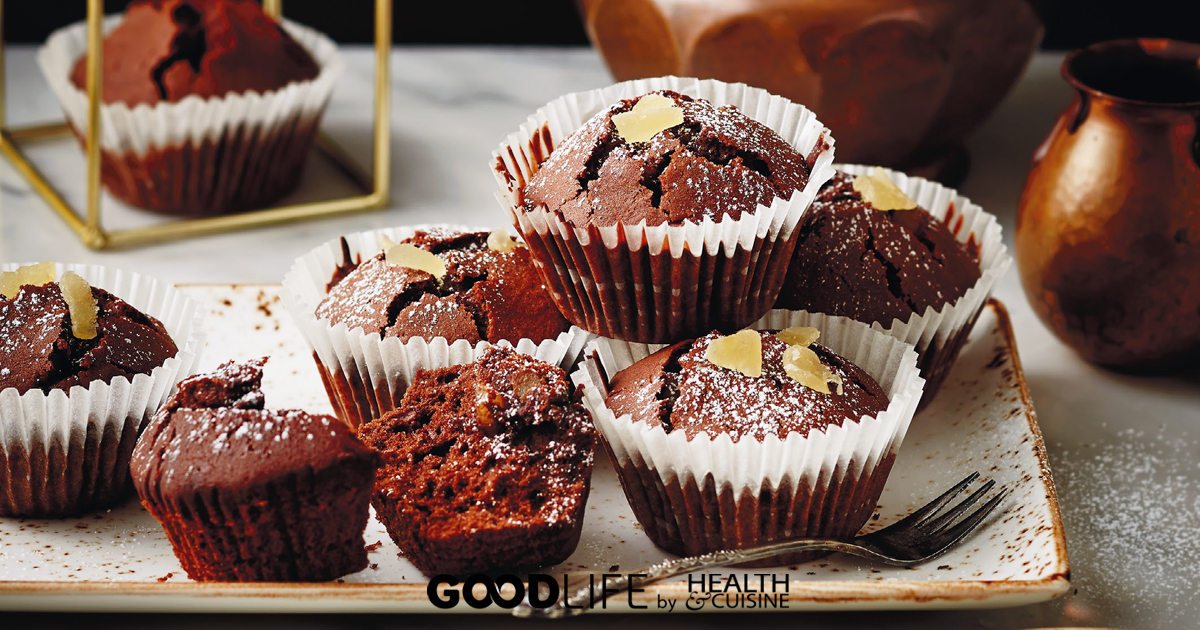 Ginger Chocolate Muffin